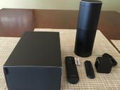 Amazon Echo - Great review -Echo has new abilities now -speech recognition is amazing -I listen to my Audible books on it too!