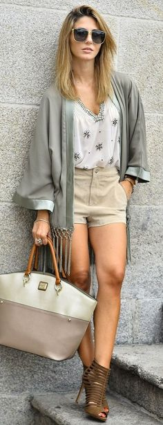 Ma Petite By Ana Earth Tones Summer Chic Outfit                                                                             Source