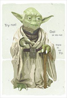 Starwars poster - Star Wars Yoda Poster - Yoda Wisdom - or print - Star Wars poster Starwars character print Star Wars Love, Star Wars Art, Star Trek, Star Wars Comics, Walt Disney Pictures, Sith, Reine Amidala, Geeks, Star Wars Personajes