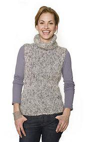 Ravelry: Fuzzy Turtleneck pattern by Lion Brand Yarn