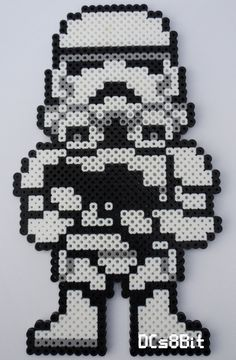 Stormtrooper - Star Wars perler beads by DCs8Bit