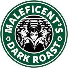Maleficent Sleeping Beauty Dark Roast Coffee Disney Princess Starbucks Logo Cutting File in Svg, Eps, Dxf, and Jpeg for Cricut & Silhouette Arte Disney, Disney Love, Disney Pixar, Disney Bounding, Disney Stuff, Disney Starbucks, Starbucks Logo, Starbucks Coffee, Drink Coffee