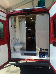 Great idea, open doors and a screen-expanded shower done very quickly