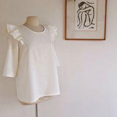 Blouse Brune - Les patrons de Delphine et Morissette / coudre une blouse / patron de couture