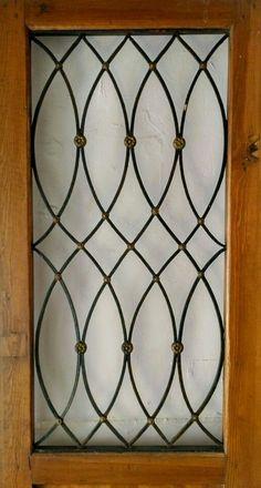 Window Grill Design Modern, Grill Door Design, Main Door Design, House Front Design, Window Design, Railing Design, Gate Design, Iron Window Grill, Burglar Bars