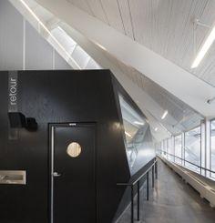The Monique-Corriveau Library/Dan Hanganu+Côté Leahy Cardas
