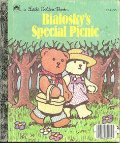 BIALOSKY'S SPECIAL PICNIC LITTLE GOLDEN BOOK 1985 9780307020185   eBay