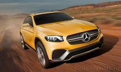 Концепт купе Mercedes GLC / Мерседес GLC