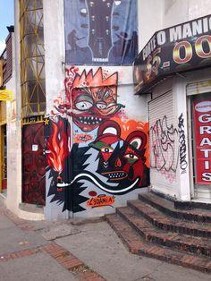 Art Project Colombia - Skore, Kometo, Ledania #StreetArt