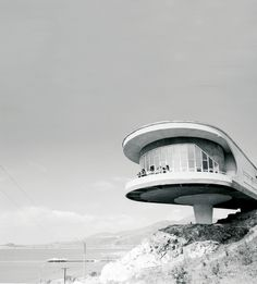 'Holiday home for writers, 1965-69, Sevan Lake, Armenia. (Eduard Gabrielyan/CNA FPSR/archdaily.com)