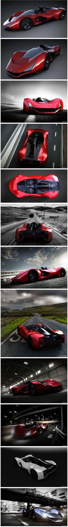 Ferrari Aliante, Such an amazing concept car. One of a kind!!