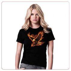 Cadouri pentru indragostiti – Tricou Flaming eagle Eagle, T Shirts For Women, Tops, Fashion, Moda, Fashion Styles, Fashion Illustrations