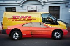 creative car wrap. Would mag wheels have removed the intentional duplicity?