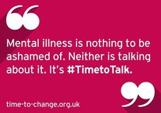 Time to change! World mental health awareness day this year is 10th October…