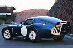 """'06 Brock Daytona Coupe Replica ... yeah, a fake. But w/ a """"detailed 427 Windsor stroker with ITB injection"""" and an impressive build, I'd take it."""
