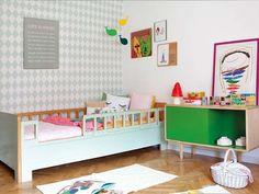¡El #dormitorio más divertido! Con muebles a medida #infantil #cama