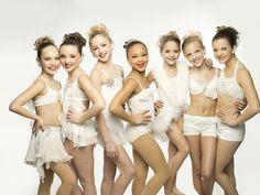 The original seven. Maddie Ziegler, Kendall Vertes, Chloe Lukasiak, Nia Frazier, Mackenzie Ziegler,Paige Hyland, and Brooke Hyland.