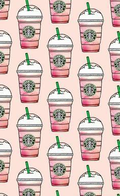 patterns-pink-starbucks-wallpapers-Favim.com-4516507.jpeg (610×996)