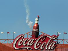 The Giant Coke Bottle