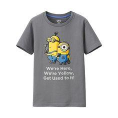 KIDS MINION MADE Short Sleeve Graphic T-Shirt