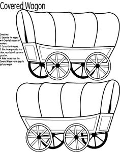 Covered Wagon for pioneer study