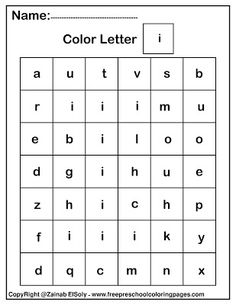 Letter w.Color by letter ABC alphabet squares pixels free preschool coloring pages for teachers and parents to teach toddlers and preschoolers with a fun way Preschool Workbooks, Free Preschool, Preschool Learning, Preschool Activities, Preschool Classroom, Preschool Lessons, Preschool Curriculum, Learning Games, Preschool Tables
