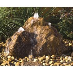 Hargrove Outdoor Products Cascade Bubbling Rock & Reviews   Wayfair