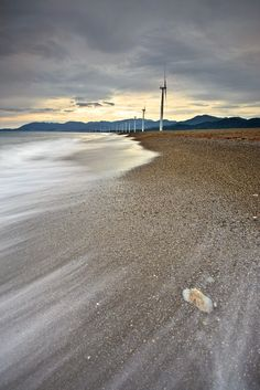 """Description: The Bangui Windmills is the first """"Wind Farm"""" in the Philippines that sells electricity to the Ilocos Norte region"""