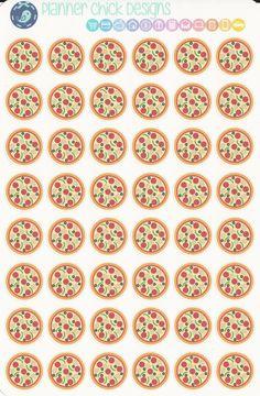 Pizza Stickers Erin Condren