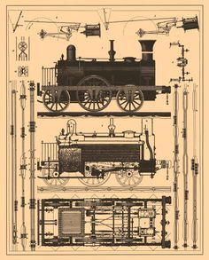 20+ Free Vintage Printable Blueprints and Diagrams | Remodelaholic.com…