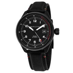 Hamilton Men's H76695733 'Khaki Field' Dial Strap Takeoff Air Zermatt Swiss Automatic Watch