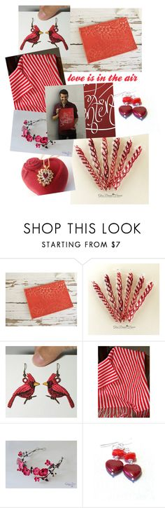 """love is in the air"" by vintagerefrain ❤ liked on Polyvore featuring Kroon"