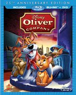 Oliver & Company Blu-Ray! Missy hasn't seen this movie in SO long.