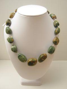 Rhyolite Nugget Necklace. Custom Order