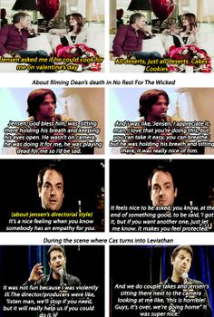 [gifset] Jensen Ackles Meme: Personality traits -  Kind, Caring, Considerate.