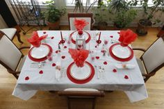 Valentines Day Tablescape by Lisa 2014
