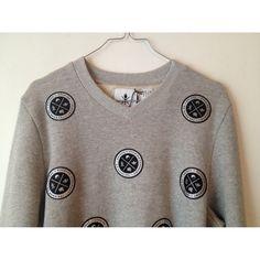 ADIDAS X OPENING CEREMONY Grey Cotton Knitwear