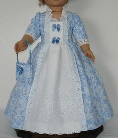 Colonial Ball Gown Created for American by MargaretteDesigns4AG