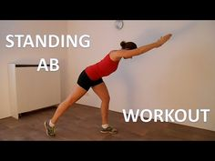 Standing Ab Workout – 10 Minute Standing Abs Workout Routine Without Equipment For Beginners - YouTube