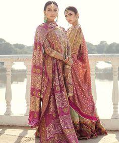 Traditional wear has our hearts always .. #indianstreetfashion . . . . . .  #indianfashion #stylefile #indianbride  #bridalwear #weddings… Pakistani Formal Dresses, Pakistani Wedding Outfits, Indian Dresses, Indian Outfits, Indian Clothes, Indian Bridal Fashion, Indian Bridal Wear, Asian Fashion, Indian Wear