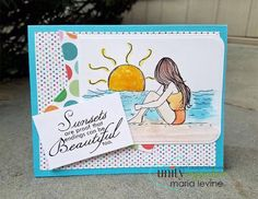 Sunset Promise kit by Phyllis Harris for Unity Stamp Co
