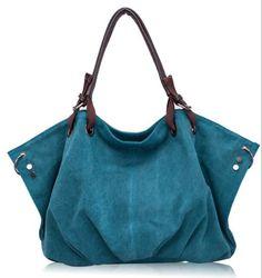 Canvas Boho Shoulder Bag - FREE Shipping!