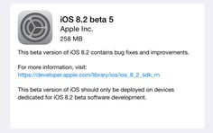 This new release compacted with lots of enhancements and bug fixes. If you want to install this new update, you can grab it from the Settings app on ios as well as through the iOS Dev Centre