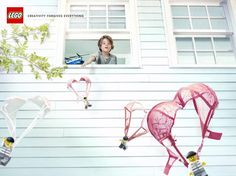 Lego: Parachutes | Ads of the World™