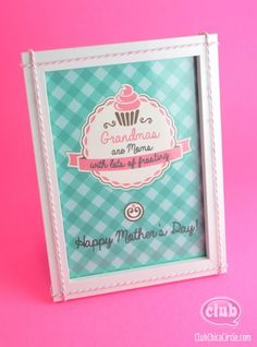 Best Kids Homemade Gifts For Mothers Day 2013 For Grandmas  Homemade Mothers Day Gifts