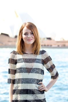 Pin for Later: 93 Stars Whose Real Names Will Surprise You Emma Stone = Emily Jean Stone