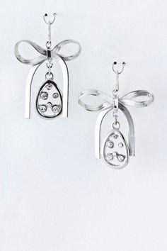 Besso Bow Earrings – Besso Inc