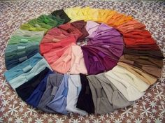 Lot of 10 Interchangeable Nylon Headbands for Hair Bows - 58 Colors to Choose From. $15.00 USD, via Etsy.