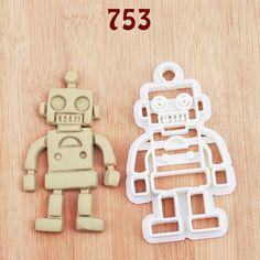 Robot Cookie Cutter robot party robot birthday by MKCookieCutter