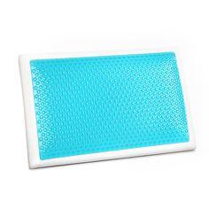 Asti Gel Memory Foam Pillow - Online Only - White - Matt Blatt Pool Vacuum Cleaner, Cool Headed, Pillows Online, Foam Pillows, Cleaning Kit, Good Sleep, Frames On Wall, Memory Foam, Shapes